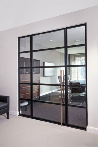 stahl glas t ren stahl loft t ren. Black Bedroom Furniture Sets. Home Design Ideas